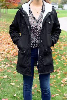 Autumn and Winter Essentials ft. Fjallraven Canada Winter Parka, Winter Essentials, Hooded Parka, Military Jacket, Raincoat, Canada, Autumn, Jackets, Fashion