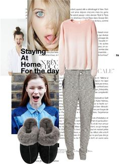 """""""Staying at home for the day"""" by l0vel-y on Polyvore"""