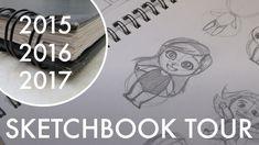 Sketchbook Tour | 2015 - 2016 - 2017