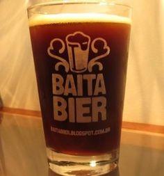Cerveja Baita Bier American Brown Ale, estilo American Brown Ale, produzida por  Cervejaria Caseira, Brasil. 6% ABV de álcool.