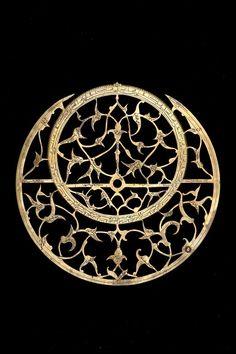Astrolabe, English, c.1370 The stars