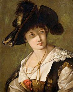 Ferdinando Castelli - Portrait of a Woman