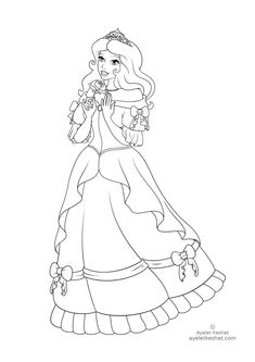 Coloring Pages About Fairy Tales For Kids Ayelet Keshet Disney Princess Coloring Pages Princess Coloring Pages Disney Princess Colors