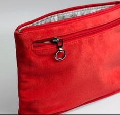 The best cosmetic bag and it has a removable liner.