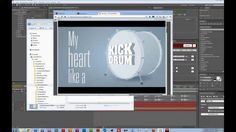 Tut: Kick drum heart with 3D Extruder and iExpressions on Vimeo