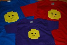 Lego shirts for family