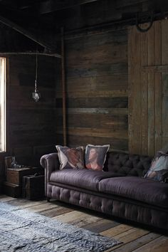 = cushions and chesterfield sofa