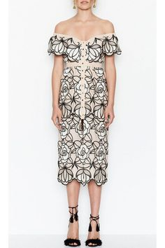 Tutti Frutti Ballet Floral Dress by Alice McCall Best Wedding Guest Dresses, Casual Day Dresses, Alice Mccall, Sleeve Styles, Vintage Dresses, Cold Shoulder Dress, Short Sleeve Dresses, Bodycon Dress, Tutti Frutti