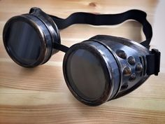 Imperator Furiosa lunettes Cosplay Mad Max Fury Road Steampunk Dieselpunk brûleur