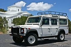 I love Land Rovers and would be very happy to own one of the few hundred NAS 110's one day.