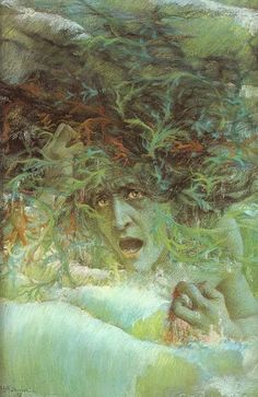 Medusa (The Angry Wave), 1897 by Lucien Levy-Dhurmer (French 1865-1953)