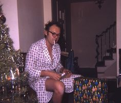 Rise and shine, baby. Where did jack nicholson come from xmas morning..?