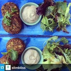 Quinoa Fritters - one serve is never enough! Instagram by @SlimBliss Fritters, Quinoa, Cabbage, Vegetables, Instagram, Food, Beignets, Essen, Cabbages
