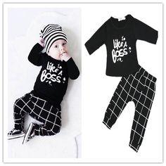 Vind meer kleding sets informatie over Mode 2016 herfst baby boy kleding…
