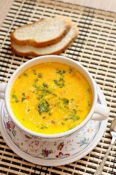 Cheesy potato crock pot soup