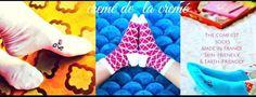 Creme de la Creme Apye socks made in France.