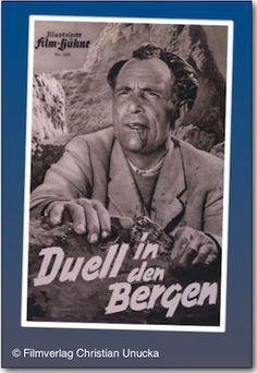Poster zum Film: Duell in den Bergen. 1951
