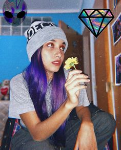 Maria B, Diva, Hair Color, Collage, Girls, Famous Youtubers, Thunder, Draw, Room