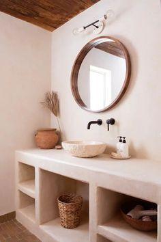Spanish Style Bathrooms, Decor, Bathroom Styling, Bathroom Inspiration, Bathroom Decor, Interior, Home Decor, House Interior, Bathroom Design