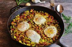 כדי שתוכלו לנצל את שלל אפשרויות הבישול וההכנה של חומר הגלם הנפוץ והאהוב הזה, הכנו עבורכם 5 מתכוני ביצים מ-5 מדינות שונות!