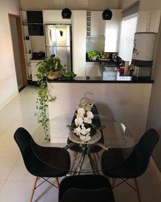 Home Room Design, Home Design Decor, Interior Design, Minimal House Design, Grand Kitchen, Small Apartment Interior, Home Decor Kitchen, Simple House, Home Decor Inspiration