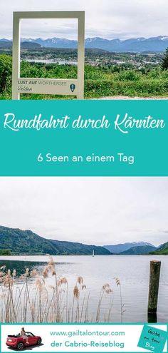 Tagesausflug vom #Gailtal über das Gitschtal zum #Weißensee. Weiterfahrt über das Drautal zum #Millstätter See, zum Brennsee und Afritzer See. Nächster Stop ist der #Ossiacher See, wo es über die Ossiacher Tauern weitergeht zum #Wörther See. Mit #Video! Roadtrip Europa, Reisen In Europa, World Pictures, Austria, Road Trip, Hiking, Camping, Mountains, Freaking Awesome