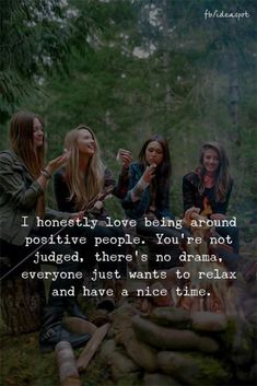 Positive Quotes : I honestly love being around positive people. - Hall Of Quotes Life Quotes Love, Bff Quotes, Best Friend Quotes, True Quotes, Quotes To Live By, Success Quotes, Happy Friendship Quotes, Friendship Captions, Mindset Quotes
