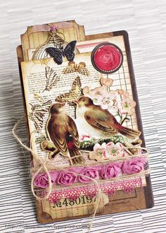 This page has some beautiful cards. Makes me want to get crafty!