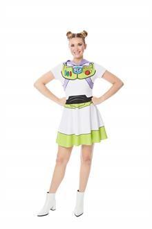 Toy Story Buzz Lightyear Womens Costume - SpicyLegs.com