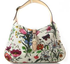 Tom Ford for Gucci Floral Handbag