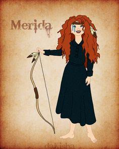 Western Disney Merida