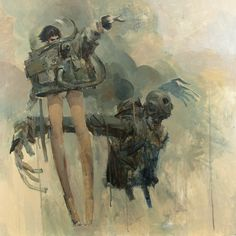 The Awesome and Amazing Ashley Wood! (Australian painter and comic-book artist)