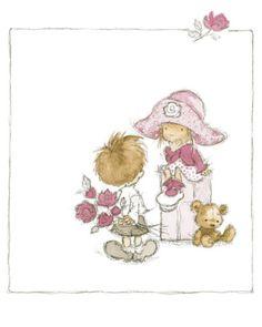 Children's World II Art Print by Annabel Spenceley