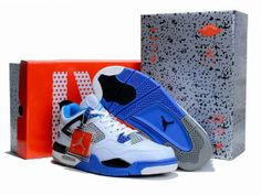 official photos 6659b 46206 Low price Air Jordan 4 IV Retro Limited Mens Basketball Shoes White Blue  Australia online outlet