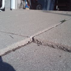 Repair Uneven Driveways. Pat Briggs · Fix Cracked Concrete