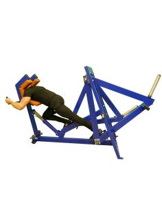 Power Runner Machine ideal for rugby players and sprinters to develop leg strength and speed. Strength Training Equipment, Home Workout Equipment, Professional Gym Equipment, Gym Workouts, At Home Workouts, Walking Exercise Machine, Weight Lifting Bar, Weight Training Programs, Cardio Kickboxing