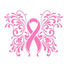 Pink Ribbon Cuttable Design