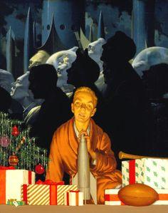 H.R. VAN DONGEN - Jan 1954 - Astounding Science Fiction