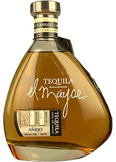 El Mayor Anejo Tequila- me gusta la botella Rum Bottle, Tequila Bottles, Alcohol Bottles, Liquor Bottles, Drink Bottles, Whisky, Mezcal Cocktails, Gin Recipes, Strong Drinks