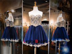 Navy Blue Prom Dress,Short Prom Dress,Cheap Prom Dress,Prom Dress 2016,8th Grade Prom Dress,Navy Blue Evening Dress, Short Evening Dress,Formal Dress, Homecoming Dresses, Graduation Dress, Cocktail Dress, Party Dress