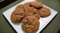 Cherry Coconut Oatmeal Cookies