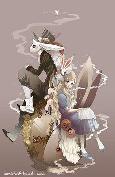 Alice in Wonderland - by Jon-Lock.deviantart.com on @deviantART: