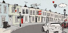 Bristol Neighbours - carys-ink illustration & design