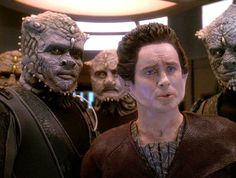 Weyoun and Jem'Hadar. Star Trek Deep Space Nine
