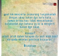 Cinta dan harapan itu......