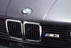 BMW M3 in studio.
