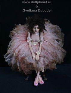 Ballerina doll - Svetlana Dubodel