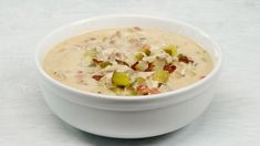 Hearty, creamy, and offering just the perfect touch of briny tang, this chicken chowder is the most delicious use for pickle juice you've never thought of. My Recipes, Soup Recipes, Chicken Recipes, Cooking Recipes, Family Recipes, Recipies, Healthy Recipes, Chicken Pickle, Pickle Soup