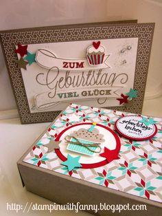 stampin with fanny: Geburtstagskuchenbausatz mit DP Frisch & Farbenfroh