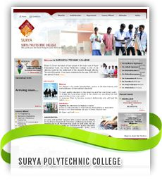 Surya Polytechnic College website Designed by Jayam Web Solutions